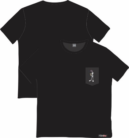Camiseta com Bolso Personalizados - Pernalonga
