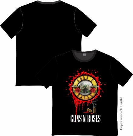 Camiseta Rock and roll Guns N' Roses 01