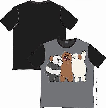 Camiseta Cartoon - Ursos sem curso