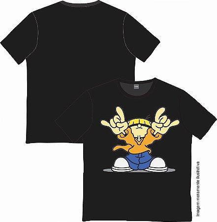 Camiseta Cartoon - A Turma do Bairro