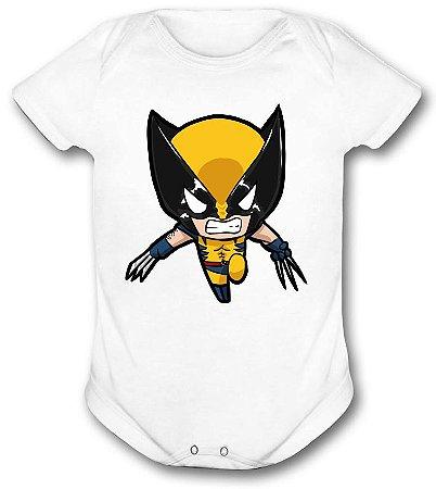 Body de bebê - Heróis Baby - Wolverine