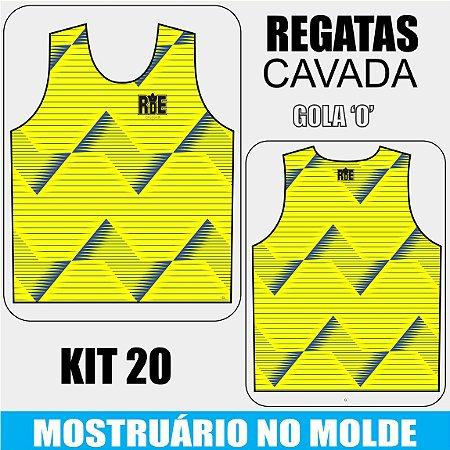 KIT 20 peças - Camisetas Regata Cavada - Compre aqui, personalize e receba do seu jeito
