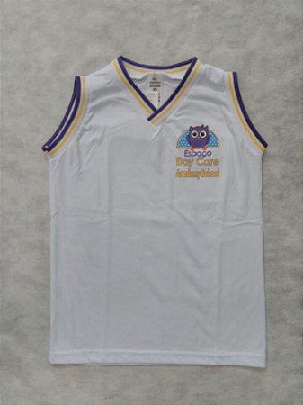 Camiseta regata branca - Academy School