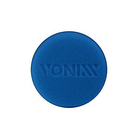 Aplicador De Cera Automotiva Vonixx De Espuma Azul Macia uma unidade