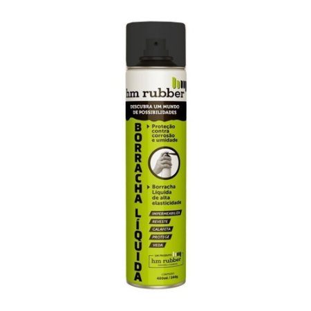 Borracha Liquida Impermeabilizante Spray 400ml Hm Rubber Nf