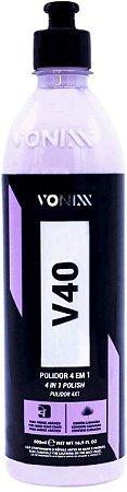V40 Vonixx polidor 4 em 1 500 ML promoção corte refino e lustro