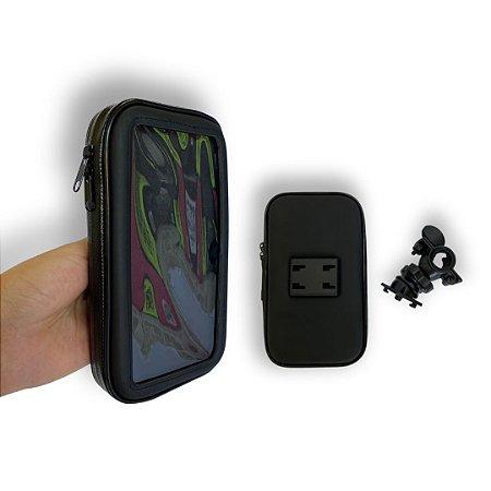Suporte Articulado de Celular  para Moto e Bike