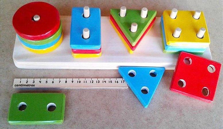 Encaixe 16 peças 2+