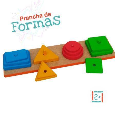Prancha De Formas - 3+
