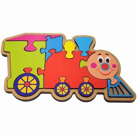 Quebra-Cabeça Trem - 2+