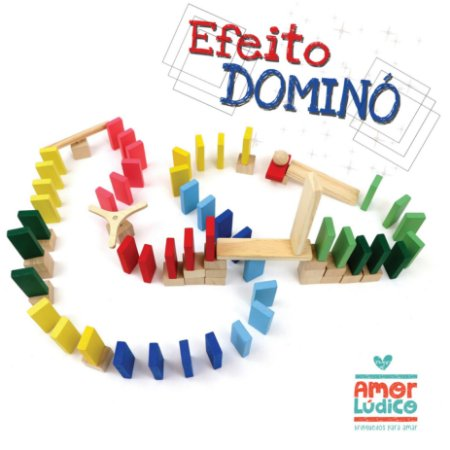 Efeito dominó Master 76 peças - 4+