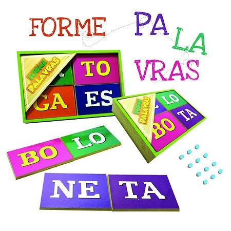 Forme Palavras Silabas - 5+