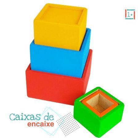 Caixas de Encaixe - 18m+
