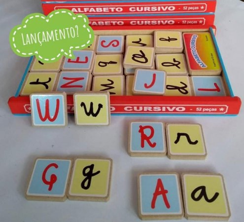 Alfabeto Cursivo - 5+