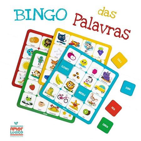 Bingo das Palavras - 5+