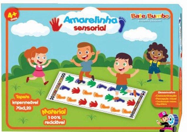 Amarelinha Sensorial - 4+