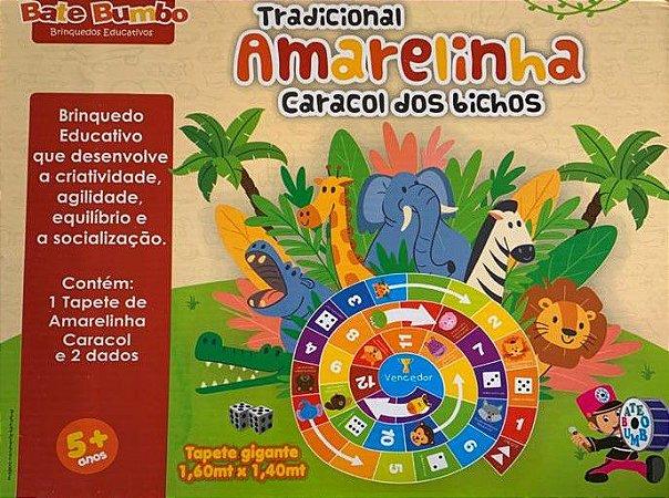 AMARELINHA TRADICIONAL CARACOL 5+