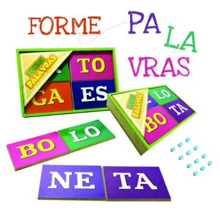 FORME PALAVRAS - 5+