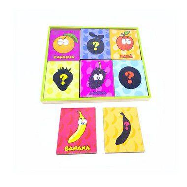 Jogo das sombras frutas 4+