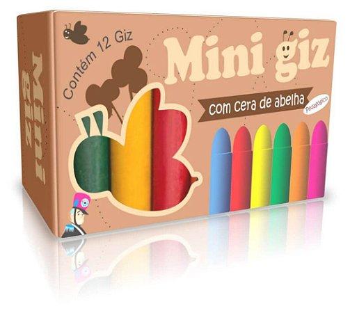 MINI GIZ DE CERA 12 CORES 3+