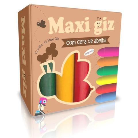 MAXI GIZ DE CERA C/12 CORES 3+