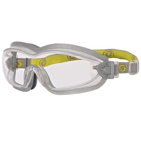 Óculos De Proteção Ampla Visão Anti-Embaçante Mod Ssav Ca 30481
