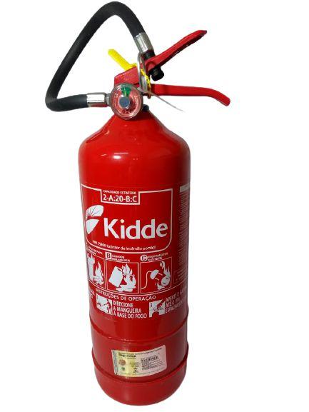Extintor Pó Abc Kidde
