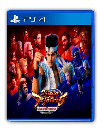 Virtua Fighter 5 Ultimate Showdown (Jogo principal + Legendary Pack) PS4 Mídia Digital