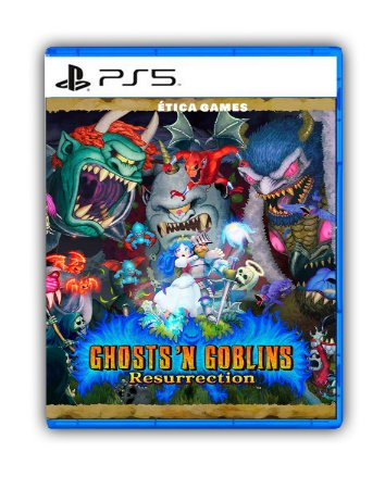 Ghosts n Goblins Resurrection PS4 - PS5 - Mídia Digital