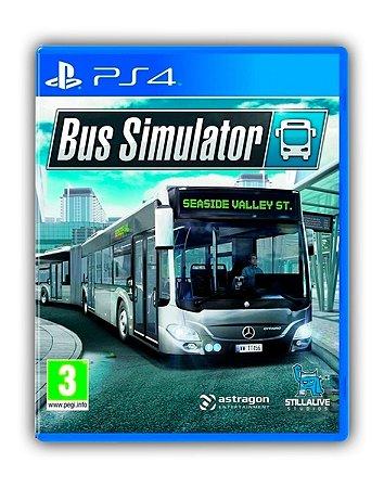 Bus Simulator PS4 Mídia Digital