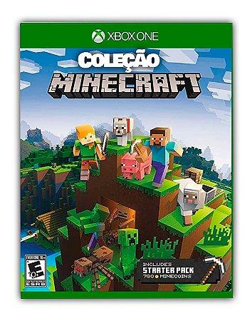 Coleção de Iniciante do Minecraft Xbox One Mídia Digital