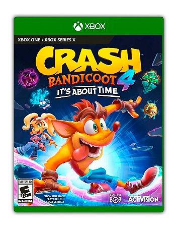 Crash Bandicoot 4 Its About Time Xbox One Mídia Digital