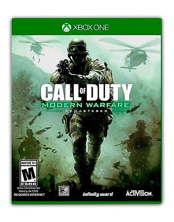 Call Of Duty: Modern Warfare Remastered Xbox One Mídia Digital