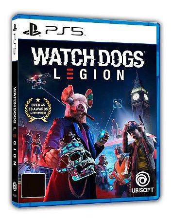 Watch Dogs Legion PS5 Mídia Digital