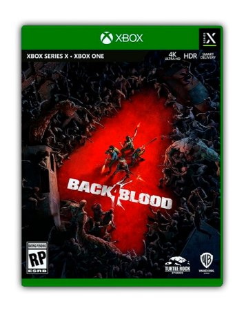 Back 4 Blood Standard Edition Xbox One Mídia Digital