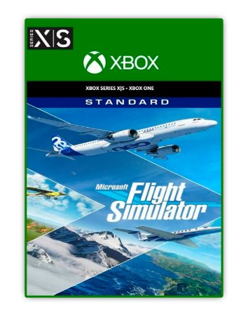 Microsoft Flight Simulator: Standard Edition Xbox One Mídia Digital
