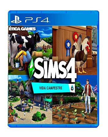 The Sims 4 Vida Campestre PS4 Mídia Digital