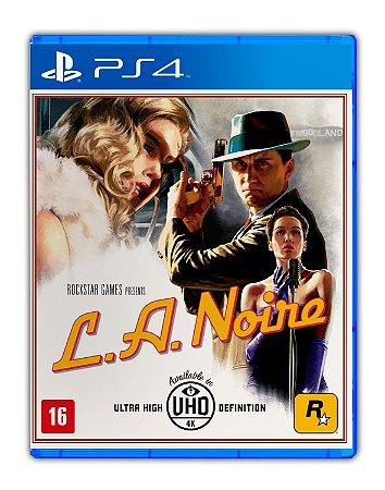 L.A. Noire PS4 Mídia Digital
