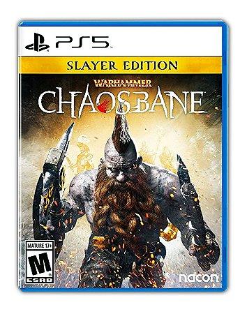 Warhammer Chaosbane Slayer Edition PS5 Mídia Digital