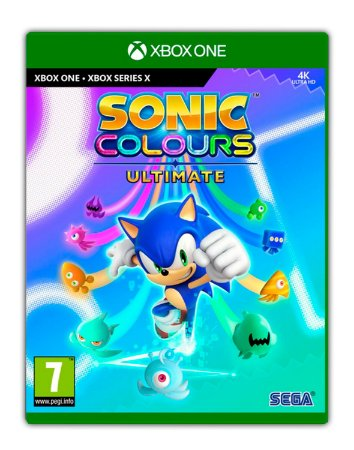 Sonic Colors: Ultimate Digital Deluxe Xbox One Mídia Digital