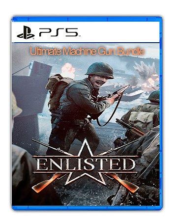 Enlisted Ultimate Machine Gun Bundle PS5 Mídia Digital