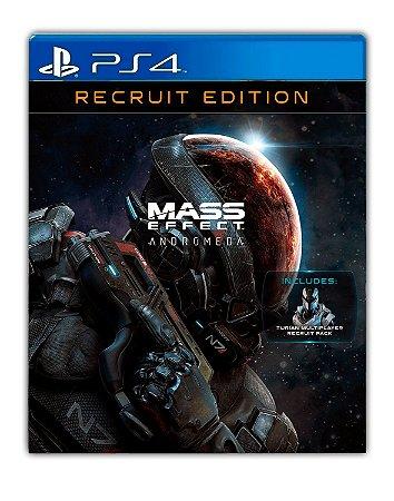 Mass Effect Andromeda – Edição de Recruta Deluxe PS4 Mídia Digital