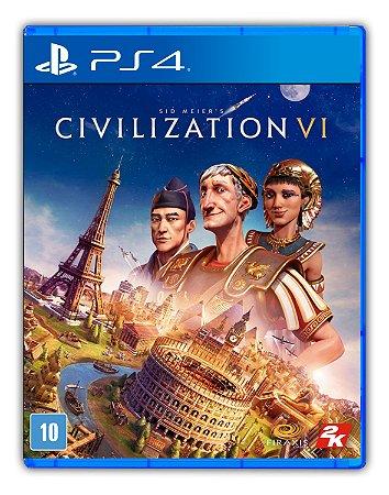 Sid Meier's Civilization VI PS4 Mídia Digital