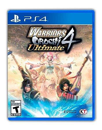 WARRIORS OROCHI 4 Ultimate PS4 Mídia Digital