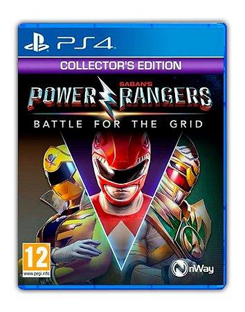 Power Rangers: Battle For The Grid - Edição de Colecionador PS4 Mídia Digital