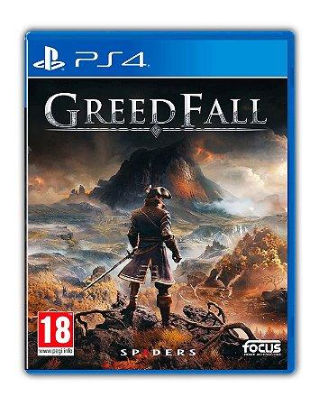 GreedFall Gold Edition PS4 Mídia Digital
