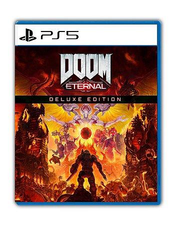 DOOM Eternal Edição Deluxe PS5 Mídia Digital