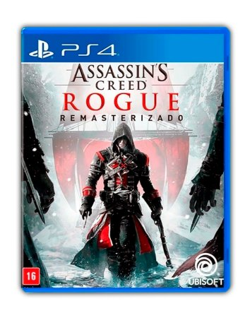 Assassins Creed Rogue Remastered PS4 Mídia Digital