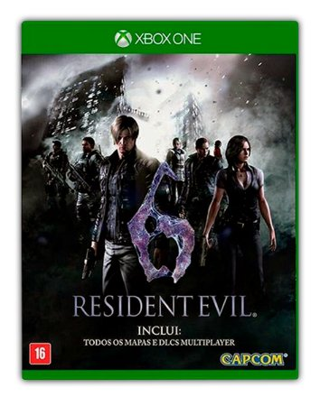 Resident Evil 6 Xbox One Mídia Digital