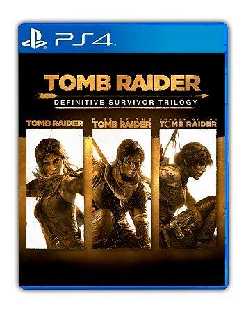 Tomb Raider: Definitive Survivor Trilogy PS4 Mídia Digital